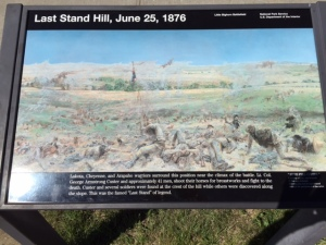 At Little Bighorn Battlefield